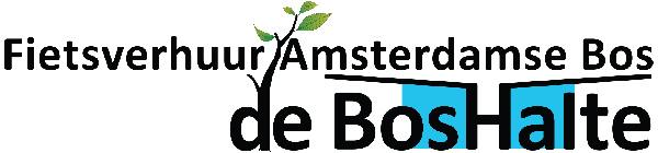 Fietsverhuur Amsterdamse Bos, de Bos Halte logo